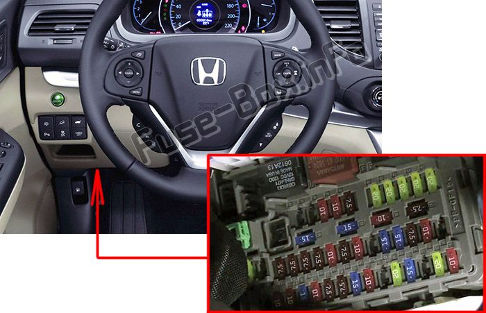 2012 Honda Crv Fuse Diagram
