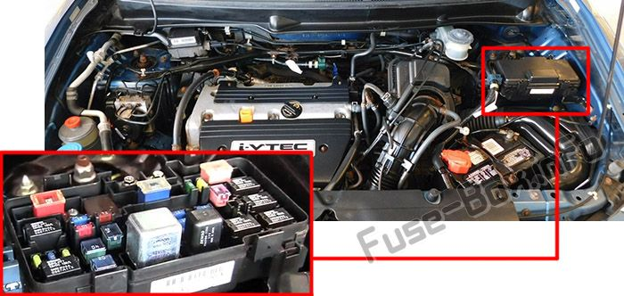 Fuse Box For 2005 Honda Element : Honda element