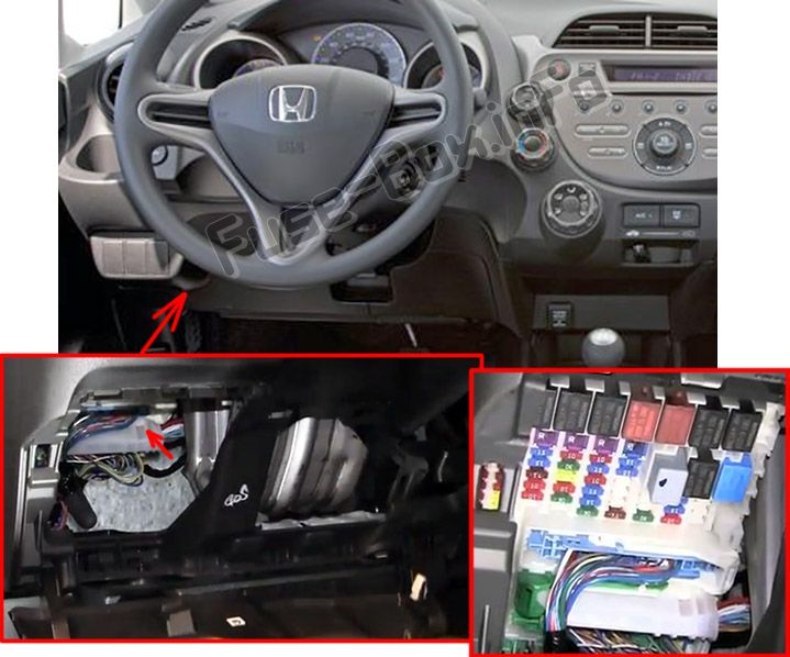2016 honda fit fuse box diagram honda fit (ge; 2009-2014)