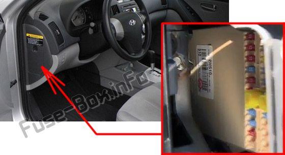 hyundai elantra 2010 fuse box hyundai elantra (hd; 2007-2010 #2