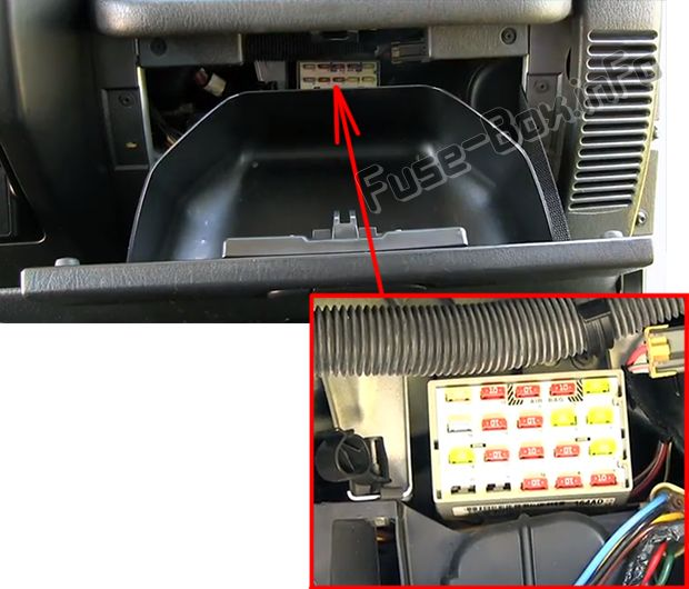 Diagram  1997 Jeep Tj Fuse Box Location Full Version Hd