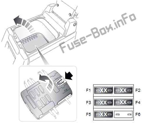 Satellite Fuse Box: (diagram) Land Rover Discovery 3 / LR3 (2004, 2005, 2006, 2007, 2008, 2009)