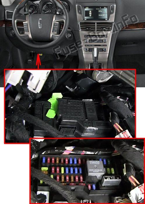 lincoln mkt fuse box diagram lincoln mkt fuse box location