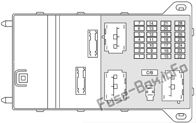 fuse box diagram lincoln zephyr 2006. Black Bedroom Furniture Sets. Home Design Ideas