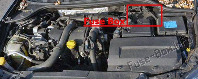 Fuse Box Diagram  U0026gt  Renault Laguna Iii  2007