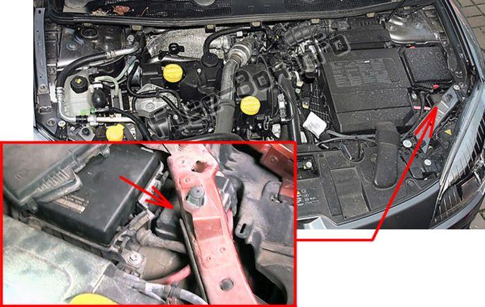 Renault Megane Wiper Motor Relay