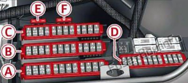 Fuse Box Diagram Audi A6 / S6 (C7/4G; 2012-2018) | Audi A6 Fuse Box Diagram |  | Fuse-Box.info