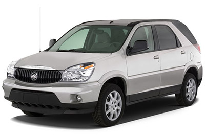 cigar lighter / power outlet fuses in the buick rendezvous are the fuse №14  (rear auxiliary power outlet) in the passenger compartment fuse box, fuse  №32