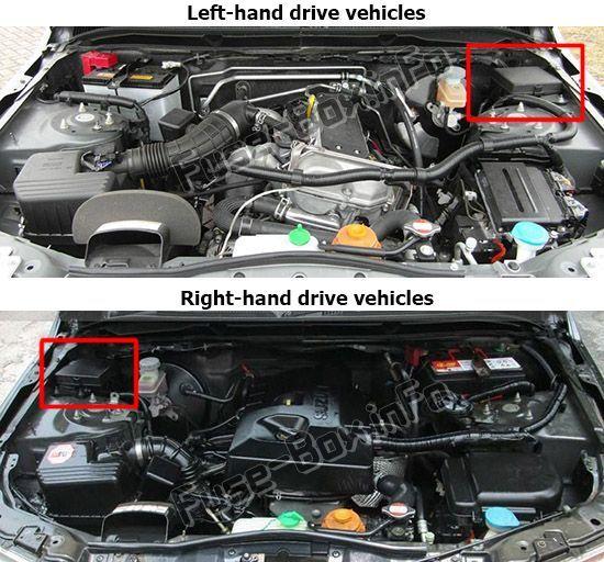 2009 Suzuki Grand Vitara Engine Diagram
