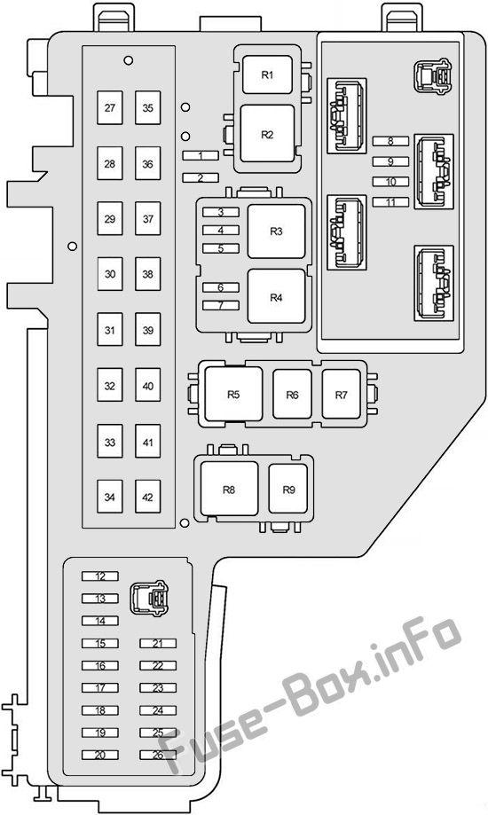 Fuse    Box    Diagram      Toyota    Prius     XW20     2004   2009