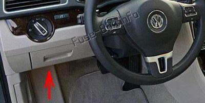 Fuse Box Diagram Volkswagen Passat B7 2011 2015
