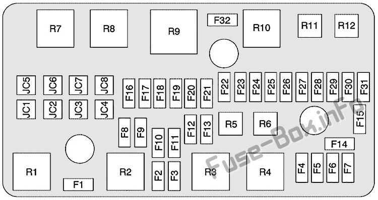 [SCHEMATICS_49CH]   | Cadillac Dts Fuse Box Location |  |