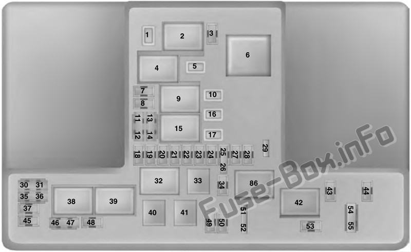 Fuse Box Diagram Ford Ranger  2019