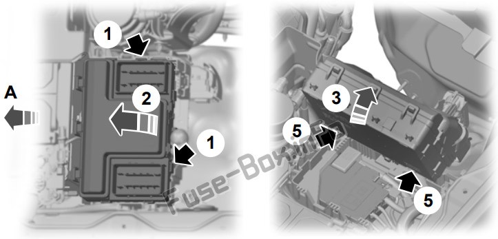 Fuse Box Diagram Ford Ranger  2019