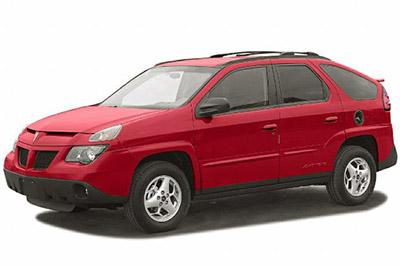 Fuse Box Diagram Pontiac Aztek 2000 2005
