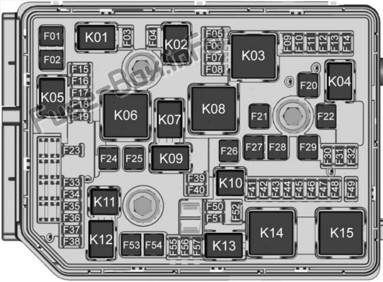 Fuse Box Diagram  U0026gt  Chevrolet Equinox  2018