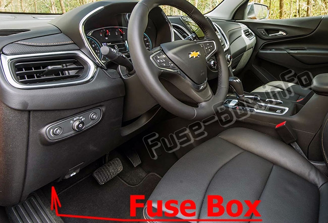 Fuse Box Diagram Chevrolet Equinox  2018