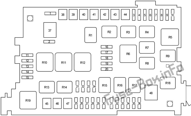 Fuse Box Diagram Toyota 4Runner (N210; 2003-2009)Fuse-Box.info