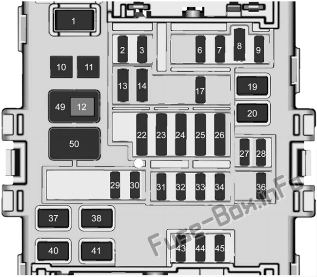 Fuse Box Diagram  U0026gt  Chevrolet Silverado  Mk3  2014