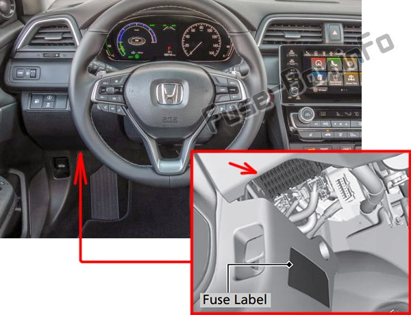 Fuse Box Diagram Honda Insight (2019-..)Fuse-Box.info