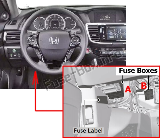 Fuse Box Diagram Honda Passport  2019