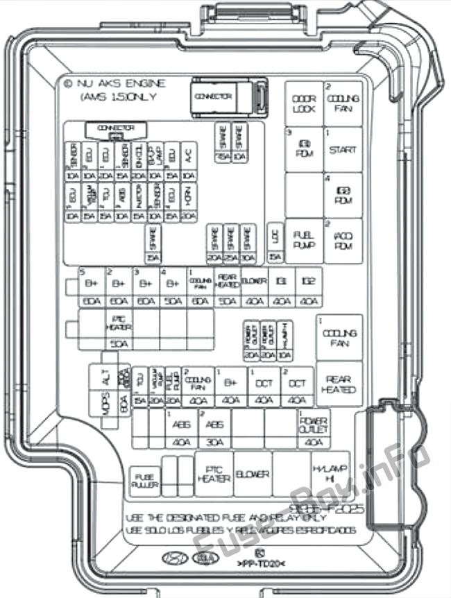 Fuse Box Diagram  U0026gt  Hyundai Elantra  Ad  2017