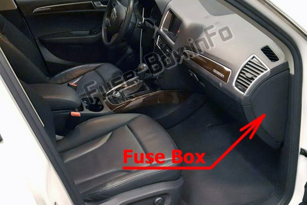 Fuse Box Diagram  U0026gt  Audi Q5  8r  2009