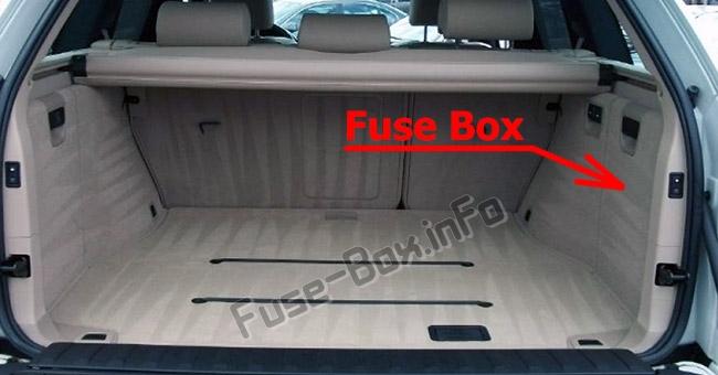 Fuse Box Diagram Bmw X5  E53  2000