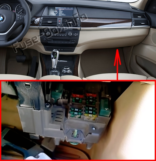 Fuse    Box    Diagram      BMW    X5        E70     20072013