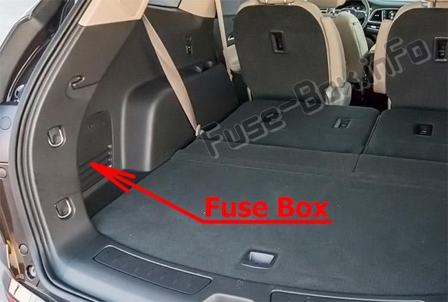 Fuse Box Diagram  U0026gt  Buick Enclave  2018