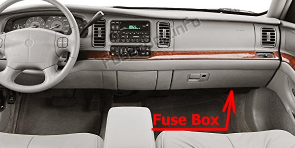 Fuse Box Diagram Buick Park Avenue (1997-2005)Fuse-Box.info