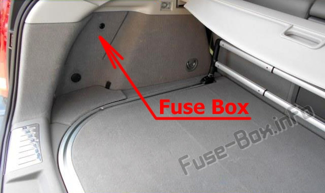 Fuse Box Diagram Cadillac Srx  2010