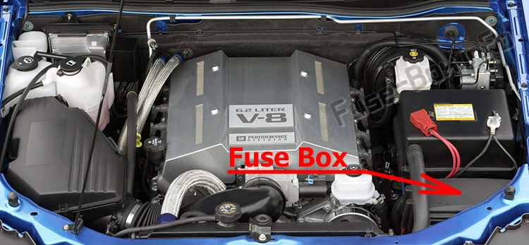 Fuse Box Diagram > Chevrolet Colorado (2004-2012)