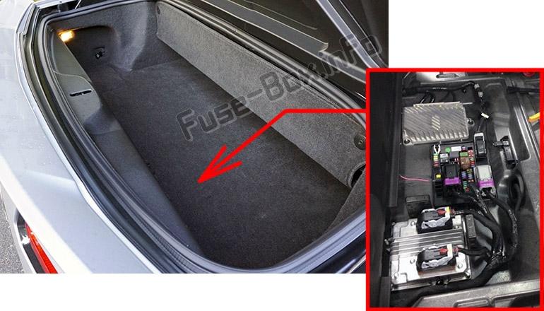 fuse box diagram chevrolet corvette  c7  2014 2019