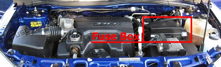 Fuse Box Diagram  U0026gt  Chevrolet Equinox  2005