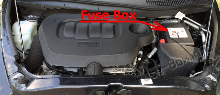 Fuse Box Diagram Chevrolet Hhr  2006