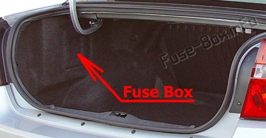 Fuse Box Diagram Chevrolet Malibu 2004 2007