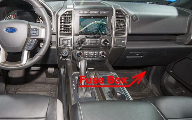 Fuse Box Diagram Ford F-150 (2015-2020..) | Ford F150 Fuse Box Location |  | Fuse-Box.info