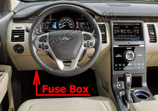 Fuse Box Diagram  U0026gt  Ford Flex  2013