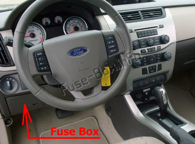 Fuse Box Diagram Ford Focus 2008 2011