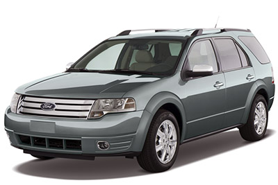 Fuse Box Diagram > Ford Taurus X (2008-2009)
