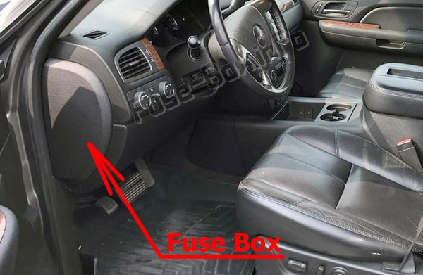 Fuse Box Diagram GMC Yukon (2007-2014) | 2014 Yukon Fuse Diagram |  | Fuse-Box.info