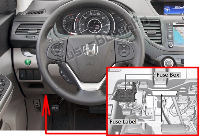 fuse box diagram honda cr v 2012 2016. Black Bedroom Furniture Sets. Home Design Ideas