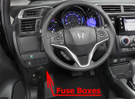 Fuse Box Diagram  U0026gt  Honda Fit  Gk  2015