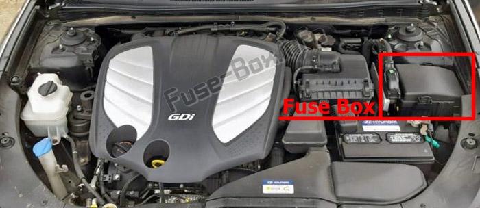 Fuse Box Diagram Hyundai Azera  Hg  2011