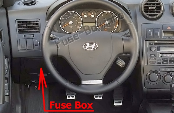 Fuse Box Diagram  U0026gt  Hyundai Coupe    Tiburon  2002
