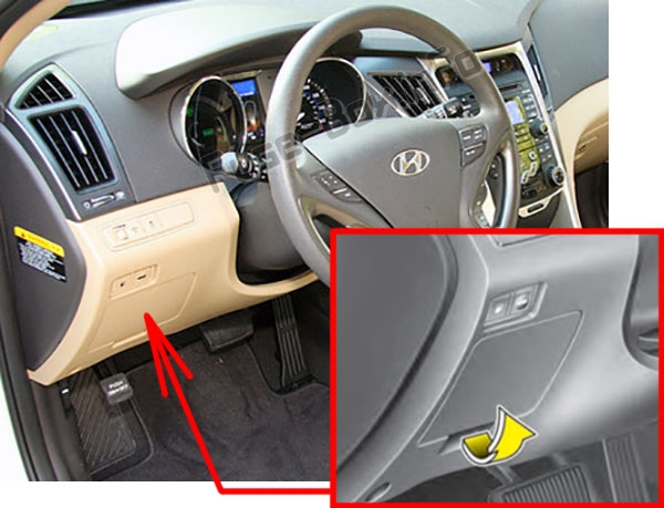 Hyundai Sonata Yf In Fuse Box Location on 2004 Hyundai Sonata Fuse Panel Diagram