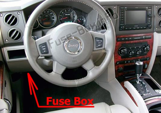 Fuse Box Diagram Jeep Commander (XK; 2006-2010)Fuse-Box.info
