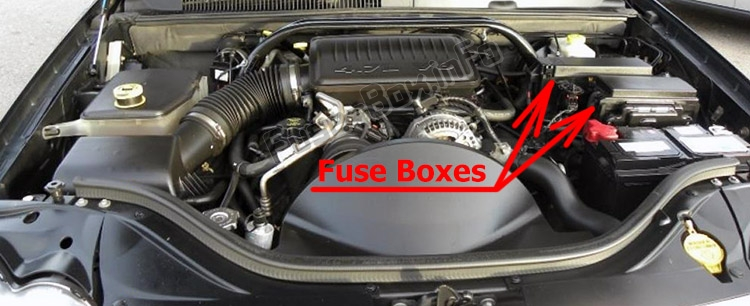 Fuse Box Diagram  U0026gt  Jeep Grand Cherokee  Wk  2005