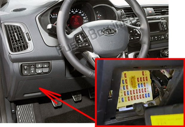 Fuse Box Diagram  U0026gt  Kia Rio  Ub  2012
